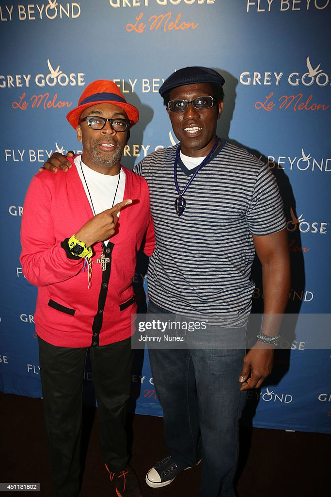 Filmmaker <a gi-track='captionPersonalityLinkClicked' href=/galleries/search?phrase=Spike+Lee&family=editorial&specificpeople=156419 ng-click='$event.stopPropagation()'>Spike Lee</a> and actor <a gi-track='captionPersonalityLinkClicked' href=/galleries/search?phrase=Wesley+Snipes&family=editorial&specificpeople=211194 ng-click='$event.stopPropagation()'>Wesley Snipes</a> attend <a gi-track='captionPersonalityLinkClicked' href=/galleries/search?phrase=Spike+Lee&family=editorial&specificpeople=156419 ng-click='$event.stopPropagation()'>Spike Lee</a>'s 'Da Sweet Blood Of Jesus' cast and crew special screening at DGA Theater on June 23, 2014 in New York City.