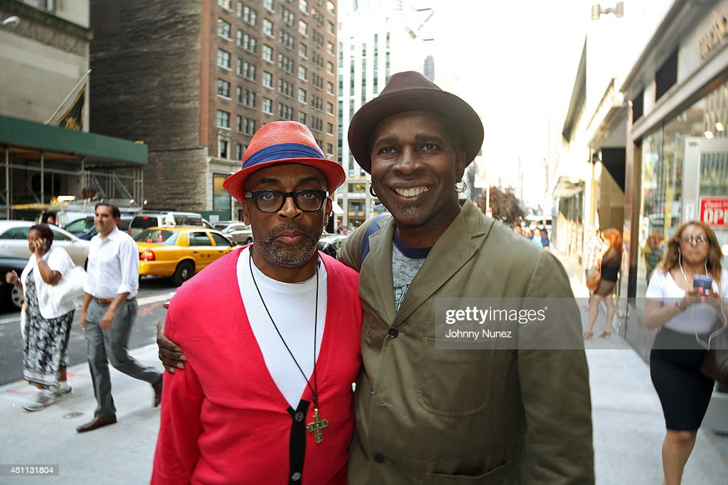 Filmmaker Spike Lee and guitarist Vernon Reid attend Spike Lee's 'Da Sweet Blood Of Jesus' cast and crew special screening at DGA Theater on June 23, 2014 in New York City.