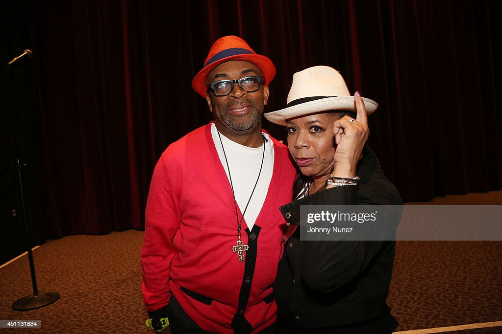 Filmmaker <a gi-track='captionPersonalityLinkClicked' href=/galleries/search?phrase=Spike+Lee&family=editorial&specificpeople=156419 ng-click='$event.stopPropagation()'>Spike Lee</a> and songwriter/producer <a gi-track='captionPersonalityLinkClicked' href=/galleries/search?phrase=Valerie+Simpson+-+Recording+Artist&family=editorial&specificpeople=235722 ng-click='$event.stopPropagation()'>Valerie Simpson</a> attend <a gi-track='captionPersonalityLinkClicked' href=/galleries/search?phrase=Spike+Lee&family=editorial&specificpeople=156419 ng-click='$event.stopPropagation()'>Spike Lee</a>'s 'Da Sweet Blood Of Jesus' cast and crew special screening at DGA Theater on June 23, 2014 in New York City.