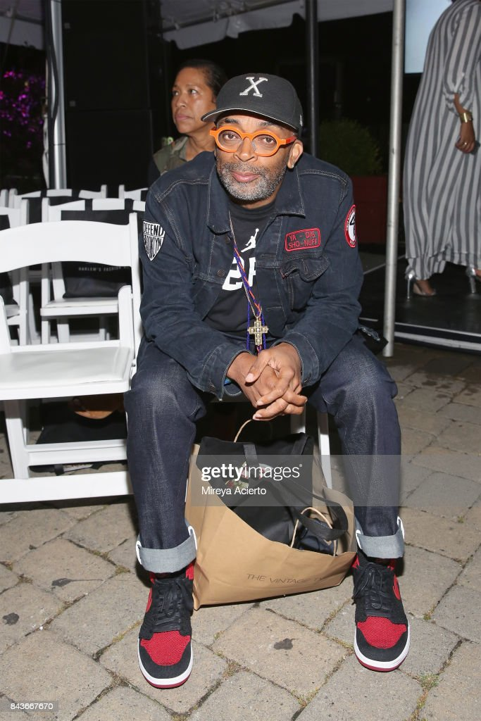 Filmmaker, Spike Lee, attends Harlem's Fashion Row 10th Anniversary Style Award and Fashion Show at La Marina Restaurant Bar Beach Lounge on September 6, 2017 in New York City.