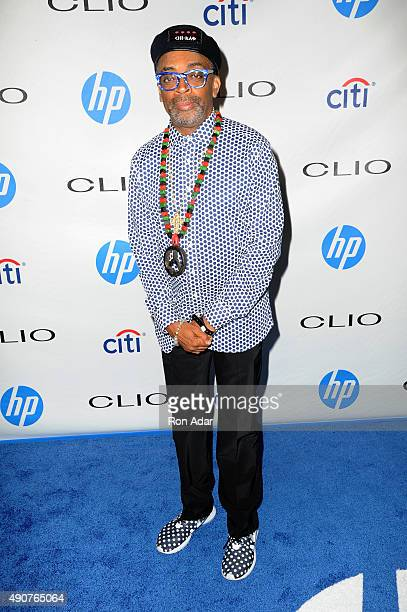 Filmmaker Spike Lee attends the 56th Annual CLIO Awards at American Museum of Natural History on September 30 2015 in New York City