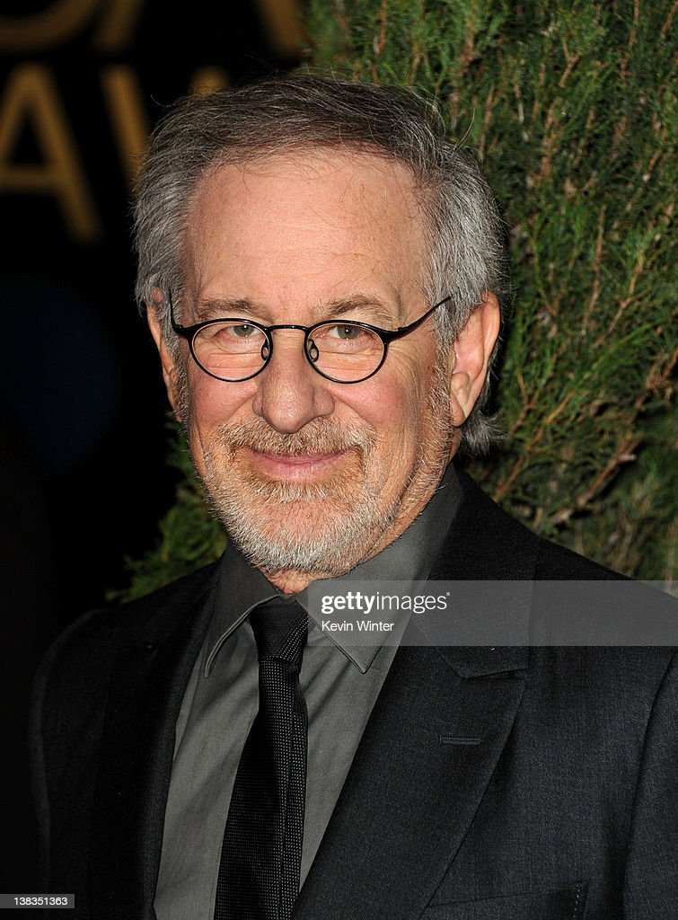 Filmmaker Steven Spielberg arrives at the 84th Academy Awards Nominations Luncheon at The Beverly Hilton hotel on February 6 2012 in Beverly Hills...