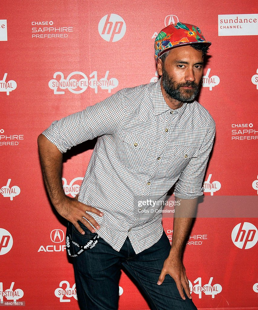 Filmmaker Taika Waititi attends the 'What We Do In The Shadows' preimiere at the Egyptian Theatre during the 2014 Sundance Film Festival on January 19, 2014 in Park City, Utah.