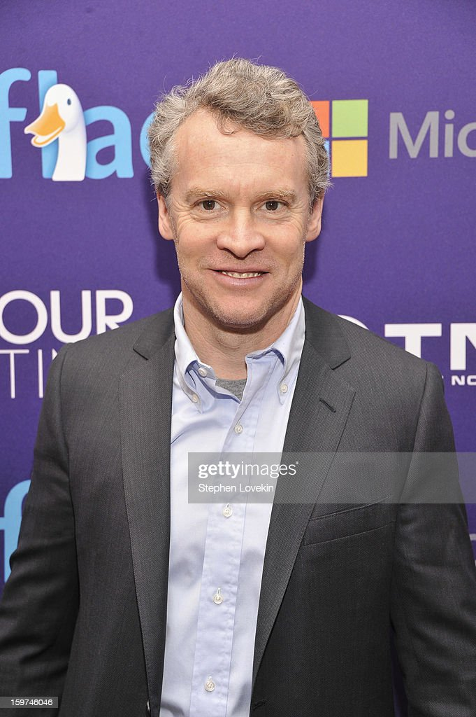 Filmmaker <a gi-track='captionPersonalityLinkClicked' href=/galleries/search?phrase=Tate+Donovan&family=editorial&specificpeople=216433 ng-click='$event.stopPropagation()'>Tate Donovan</a> attends the Generation Now Inaugural Youth Ball hosted by OurTime.org on January 19, 2013 in Washington, United States.