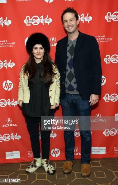 Filmmaker Tessa LouiseSalome and Sundance Film Festival Director of Programming Trevor Groth attend the 'Mr leos caraX' Premiere 2014 Sundance Film...