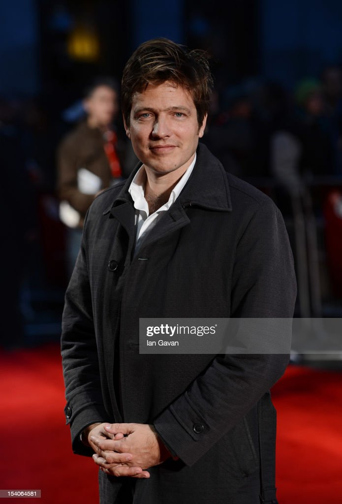 Filmmaker Thomas Vinterberg attends the premiere of 'The Hunt' during the 56th BFI London Film Festival at Odeon West End on October 13 2012 in...