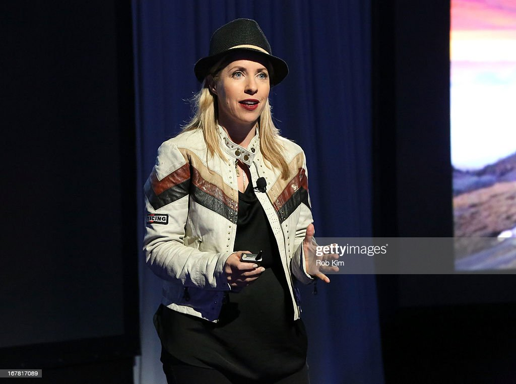 Filmmaker Tiffany Shlain speaks onstage at the AOL 2013 Digital Content NewFront on April 30, 2013 in New York City.