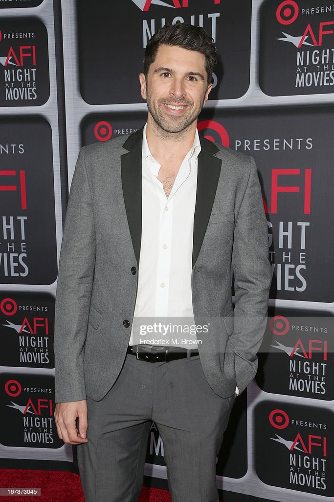 Filmmaker Todd Gallagher arrives on the red carpet for Target Presents AFI's Night at the Movies at ArcLight Cinemas on April 24, 2013 in Hollywood, California.