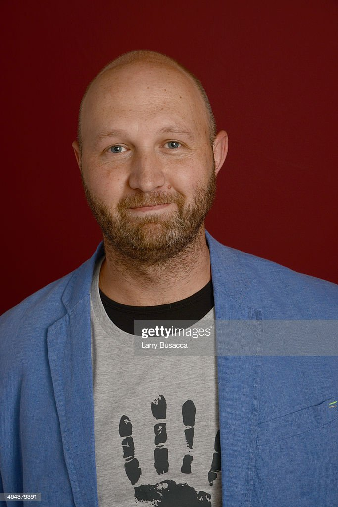 Filmmaker Tony Stroebel poses for a portrait during the 2014 Sundance Film Festival at the Getty Images Portrait Studio at the Village At The Lift Presented By McDonald's McCafe on January 22, 2014 in Park City, Utah.