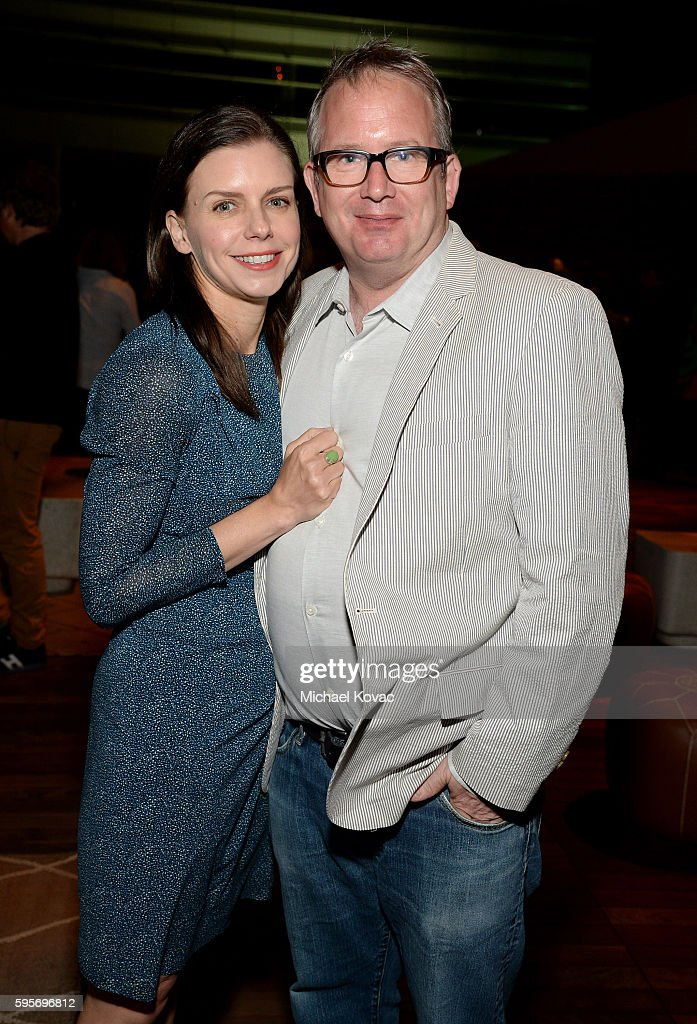 Filmmaker Vanessa Hope and Amazon Studios' Ted Hope attend the after party for the Los Angeles Premiere of 'Author The JT Leroy Story' at NeueHouse...