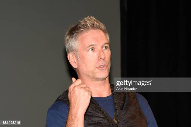Filmmaker Wallace J Nichols appears for Q and A following the screening of Straws at the Santa Cruz Film Festival at the Tannery Arts Center on...