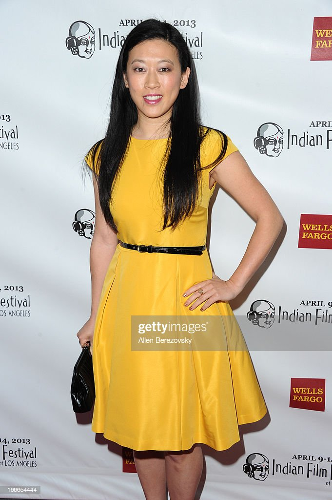 Filmmaker Wendy J.M. Lee attends the 11th Annual Indian Film Festival of Los Angeles Closing Night Gala premiere of 'Midnight's Children' at ArcLight Hollywood on April 14, 2013 in Hollywood, California.