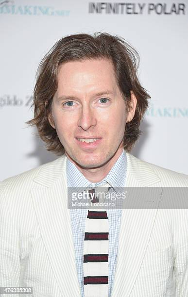 Filmmaker Wes Anderson attends the 'Infinitely Polar Bear' New York premiere at Landmark Sunshine Cinema on June 8 2015 in New York City