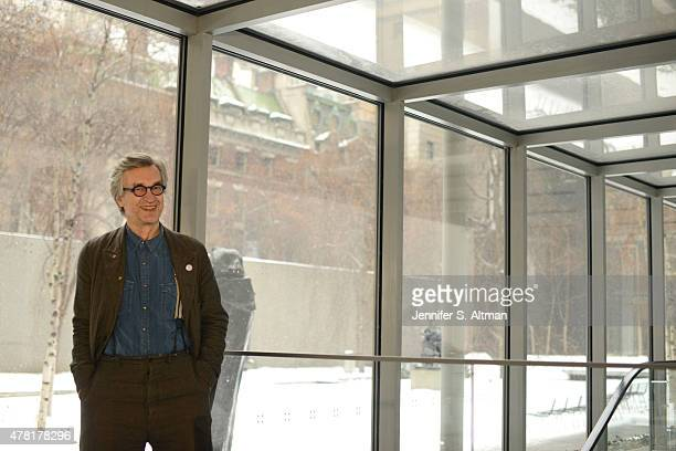 Filmmaker Wim Wenders is photographed for Los Angeles Times on March 3 2015 in New York City