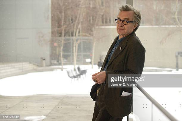 Filmmaker Wim Wenders is photographed for Los Angeles Times on March 3 2015 in New York City PUBLISHED IMAGE