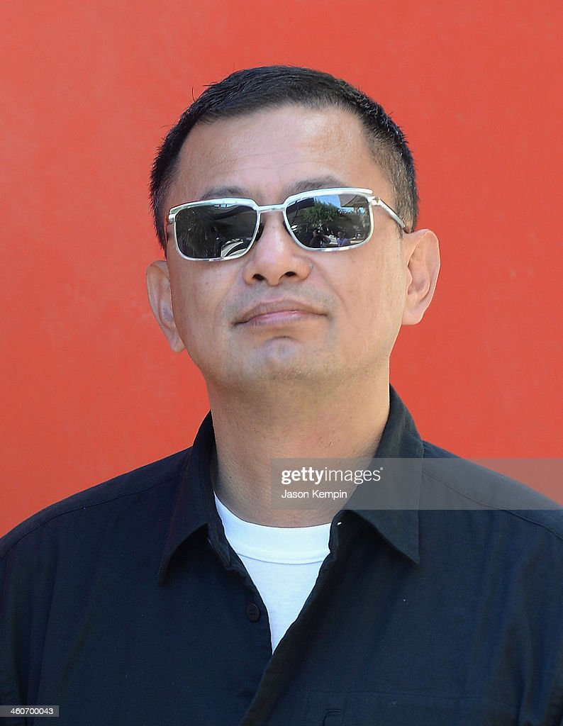 Filmmaker Wong Kar-wai attends the 25th Annual Palm Springs International Film Festival - Talking Pictures: Wong Kar Wai at the Annenberg Auditorium on January 4, 2014 in Palm Springs, California.