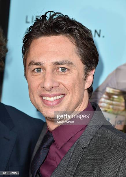 Filmmaker/actor Zach Braff attends Focus Features' 'Wish I Was Here' premiere at DGA Theater on June 23 2014 in Los Angeles California