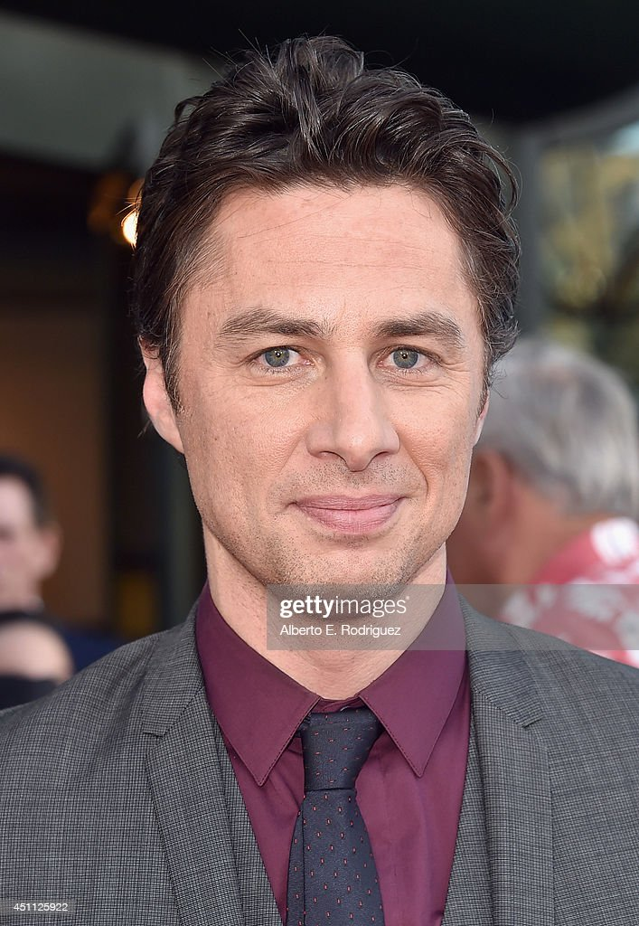 Filmmaker/actor <a gi-track='captionPersonalityLinkClicked' href=/galleries/search?phrase=Zach+Braff&family=editorial&specificpeople=203253 ng-click='$event.stopPropagation()'>Zach Braff</a> attends the premiere of Focus Features' 'Wish I Was Here' at DGA Theater on June 23, 2014 in Los Angeles, California.