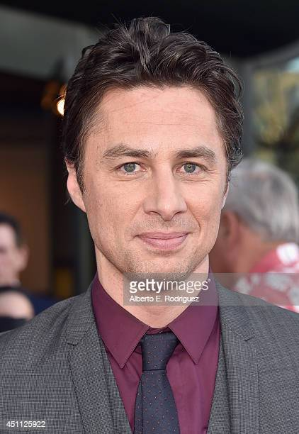 Filmmaker/actor Zach Braff attends the premiere of Focus Features' 'Wish I Was Here' at DGA Theater on June 23 2014 in Los Angeles California