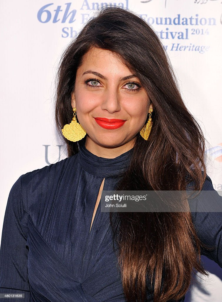 Filmmaker/Actress Kathreen Khavari attends the 6th Annual Farhang Foundation's Short Film Festival award ceremony and reception at LACMA on March 22, 2014 in Los Angeles, California.