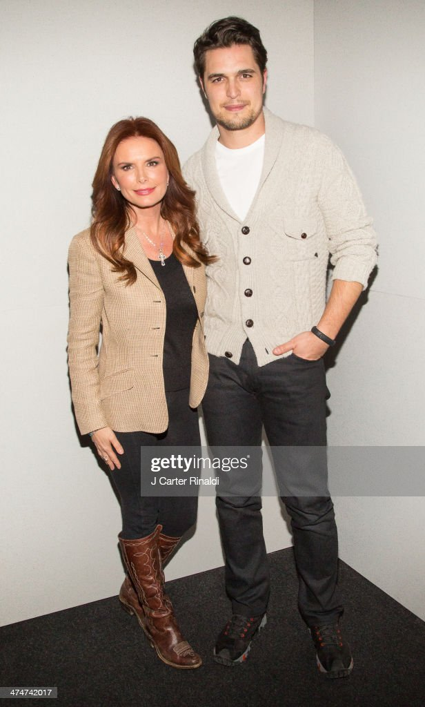 Filmmaker/actress Roma Downey and actor Diogo Morgado attend 'Meet The Filmmakers'>> at Apple Store Soho on February 24 2014 in New York City