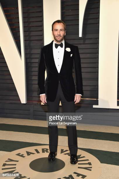 Filmmaker/designer Tom Ford attends the 2017 Vanity Fair Oscar Party hosted by Graydon Carter at Wallis Annenberg Center for the Performing Arts on...