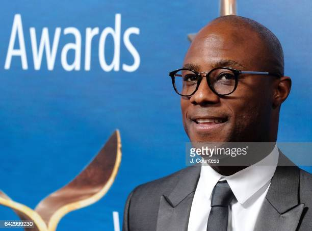 Filmmaker/Director Barry Jenkins attends the 2017 Writers Guild Awards LA Ceremony at The Beverly Hilton Hotel on February 19 2017 in Beverly Hills...