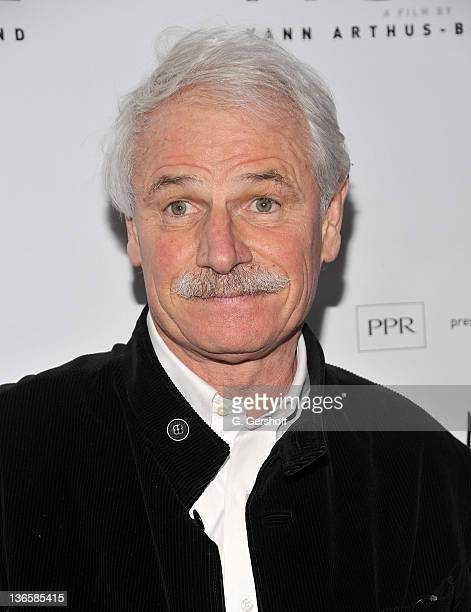 Filmmaker/environmentalist Yann ArthusBertrand attends the New York premiere of 'Home' at the Directors Guild of America Theater on February 1 2011...