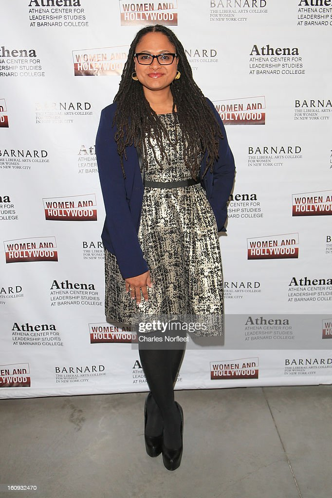 Filmmaker/film distributor Ava DuVernay attends The 2013 Athena Film Festival Opening Night Reception at The Diana Center At Barnard College on February 7, 2013 in New York City.