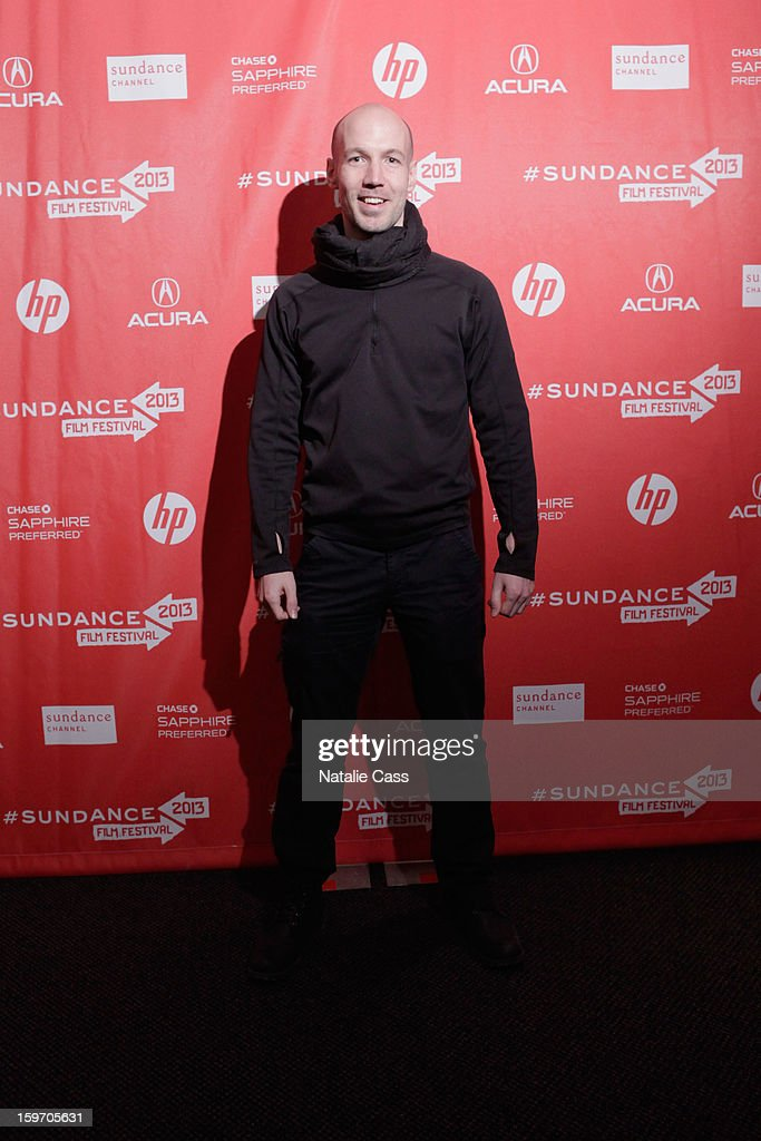 Filmmaker/Journalist Richard Rowley attends the 'Dirty Wars' Premiere during the 2013 Sundance Film Festival at Eccles Center Theatre on January 18, 2013 in Park City, Utah.