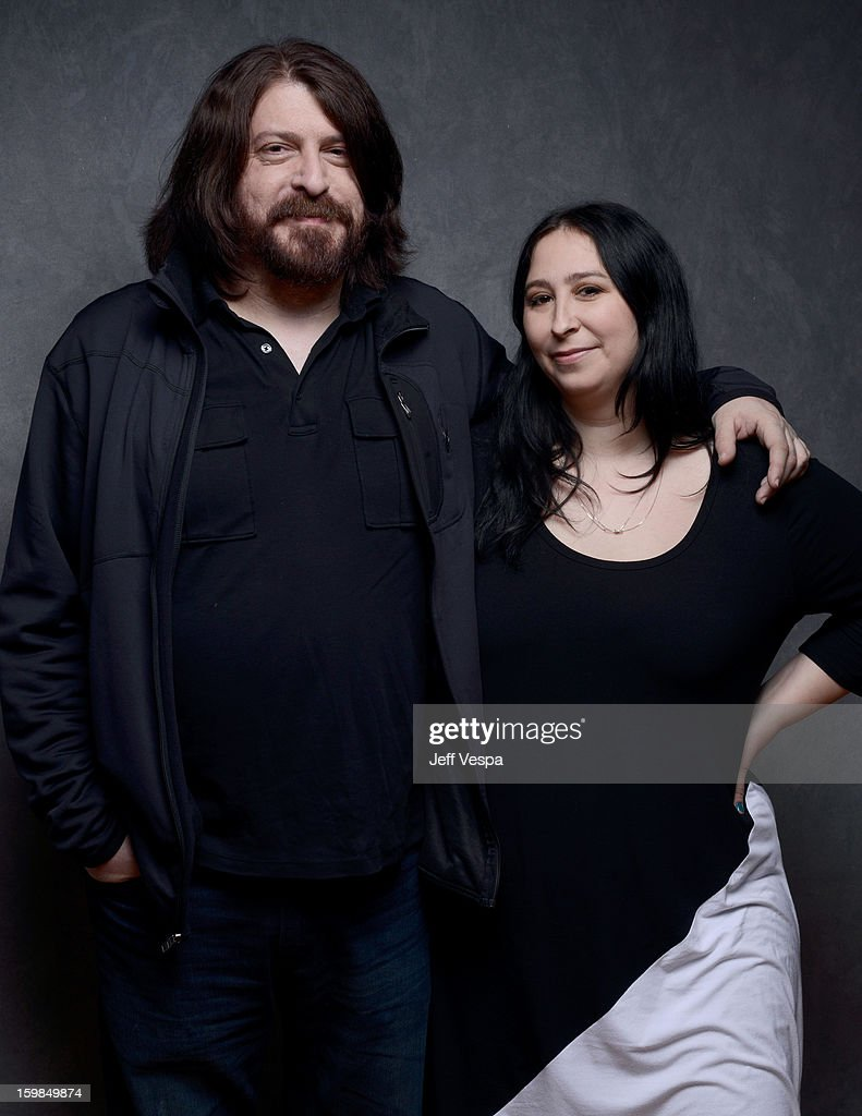 Filmmakers Aaron Aites (L) and Audrey Ewell pose for a portrait during the 2013 Sundance Film Festival at the WireImage Portrait Studio at Village At The Lift on January 21 2013 in Park City, Utah.