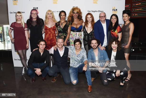 Filmmakers and castmembers attend the 2017 Los Angeles Film Festival 'Anything' premiere at the ArcLight Santa Monica on June 17 2017 in Santa Monica...