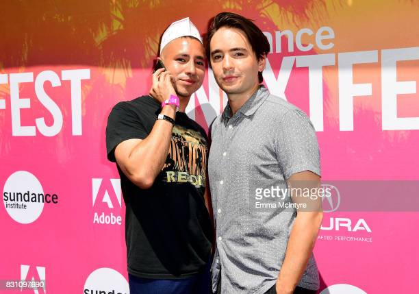 Filmmakers Antonio Santini and Dan Sickles attend 2017 Sundance NEXT FEST at The Theater at The Ace Hotel on August 13 2017 in Los Angeles California