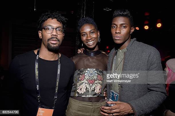 Filmmakers attend the Film Independent International Documentary Association Oovra Music And RO*CO FILMS Sundance Party at OP Rockwell on January 23...