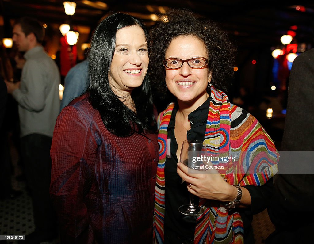 Filmmakers <a gi-track='captionPersonalityLinkClicked' href=/galleries/search?phrase=Barbara+Kopple&family=editorial&specificpeople=228758 ng-click='$event.stopPropagation()'>Barbara Kopple</a> and Michele Stephenson attend the 2012 Sundance Film Festival Filmmaker Orientation at Hotel Chantelle on December 11, 2012 in New York City.