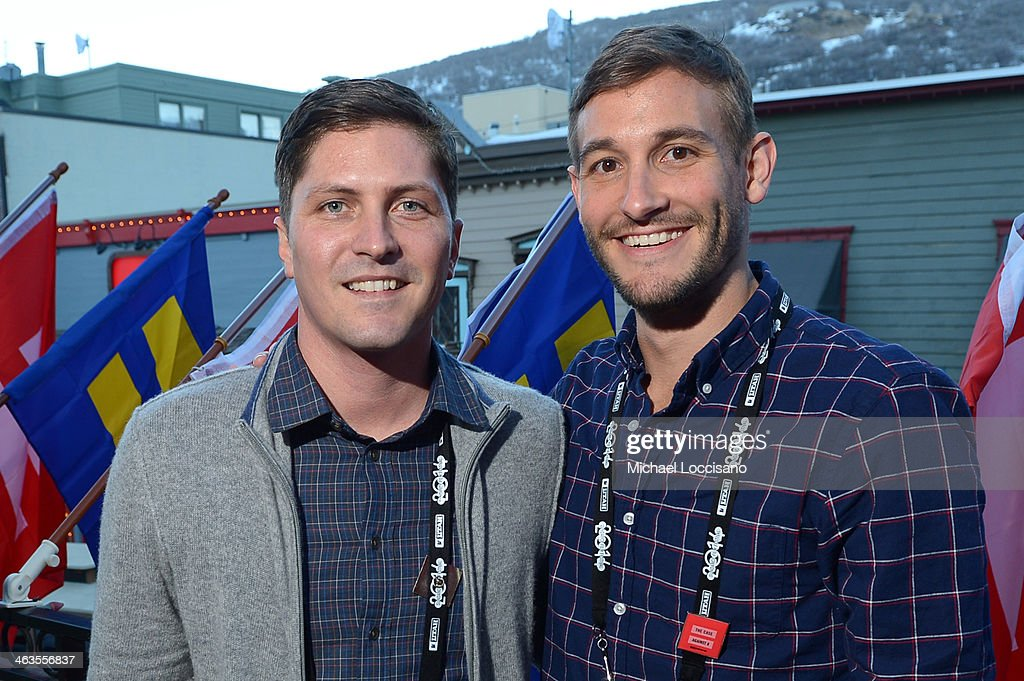 Filmmakers Ben Cotner and Ryan White attend the HBO & HRC Wedding Reception For The Case Against 8 on January 18, 2014 in Park City, Utah.