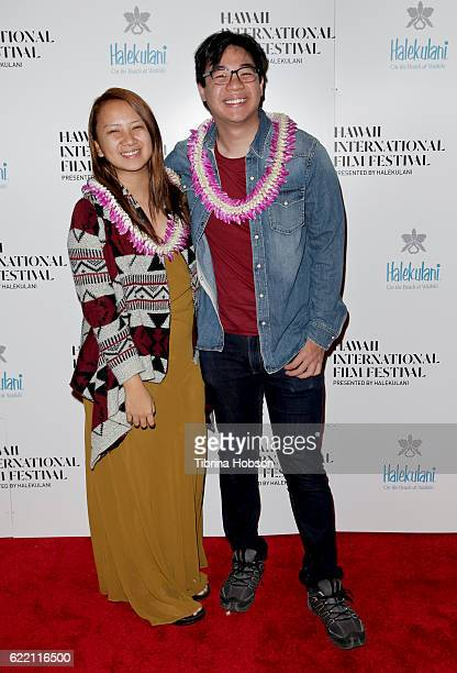 Filmmakers Bianca Balbuena and Bradley Liew attend the Hawaii International Film Festival 2016 at the Dole Cannery Theaters on November 9 2016 in...