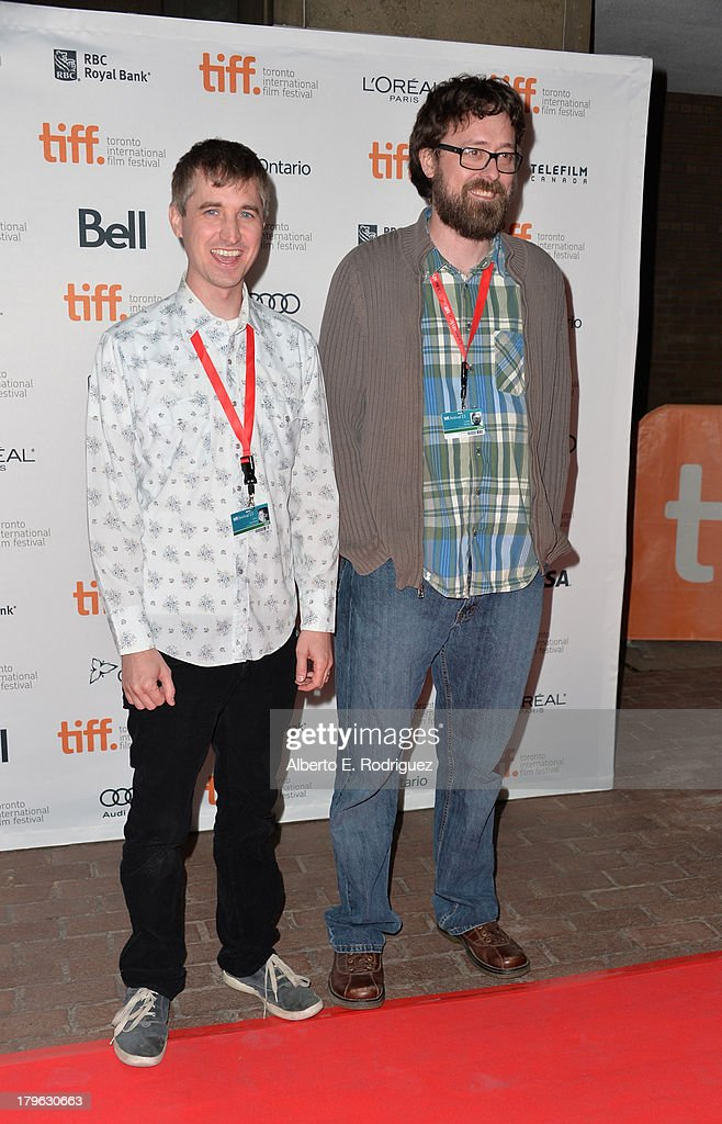 Filmmakers Chris Sivertson and Lucky McKee arrive at the 'All Cheerleaders Die' premiere during the 2013 Toronto International Film Festival at...