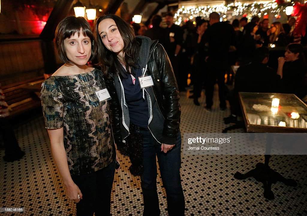 Filmmakers Eliza Hittman and Lauren Wolkstein attend the 2012 Sundance Film Festival Filmmaker Orientation at Hotel Chantelle on December 11, 2012 in New York City.