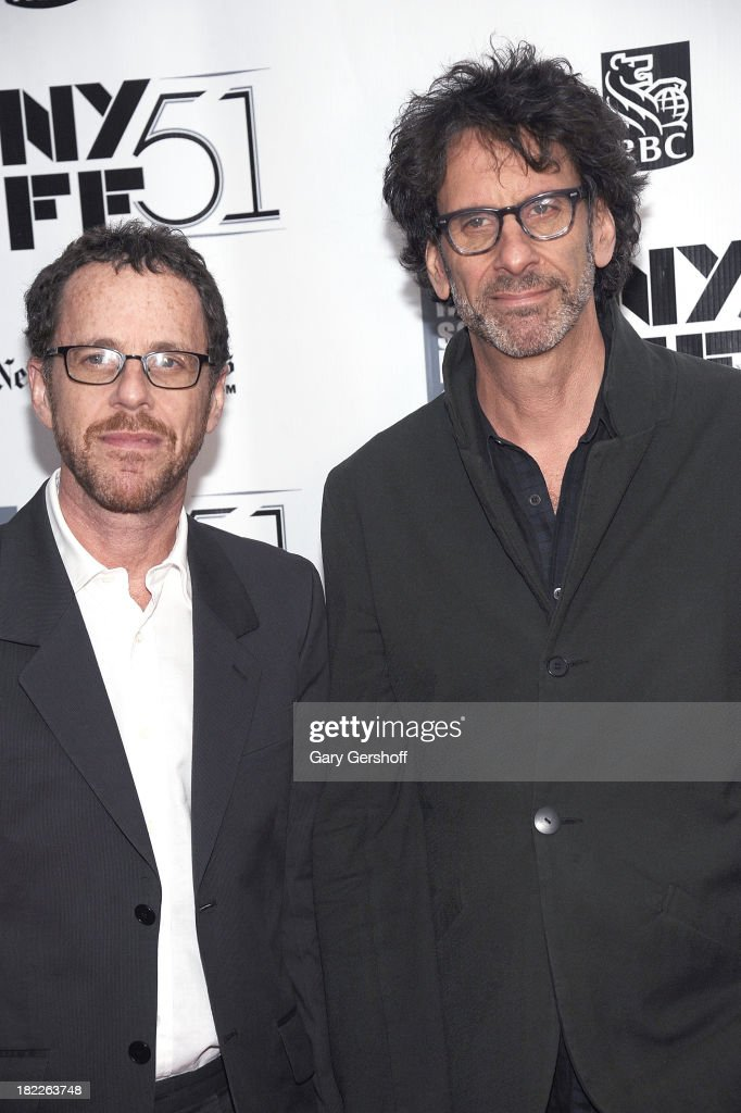 Filmmakers <a gi-track='captionPersonalityLinkClicked' href=/galleries/search?phrase=Ethan+Coen&family=editorial&specificpeople=1130888 ng-click='$event.stopPropagation()'>Ethan Coen</a> (L) and <a gi-track='captionPersonalityLinkClicked' href=/galleries/search?phrase=Joel+Coen&family=editorial&specificpeople=4292064 ng-click='$event.stopPropagation()'>Joel Coen</a> attend the 'Inside Lleywn Davis' premiere during the 51st New York Film Festival at Alice Tully Hall at Lincoln Center on September 28, 2013 in New York City.