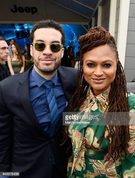 Filmmakers Ezra Edelman and Ava DuVernay attend the 2017 Film Independent Spirit Awards at the Santa Monica Pier on February 25 2017 in Santa Monica...