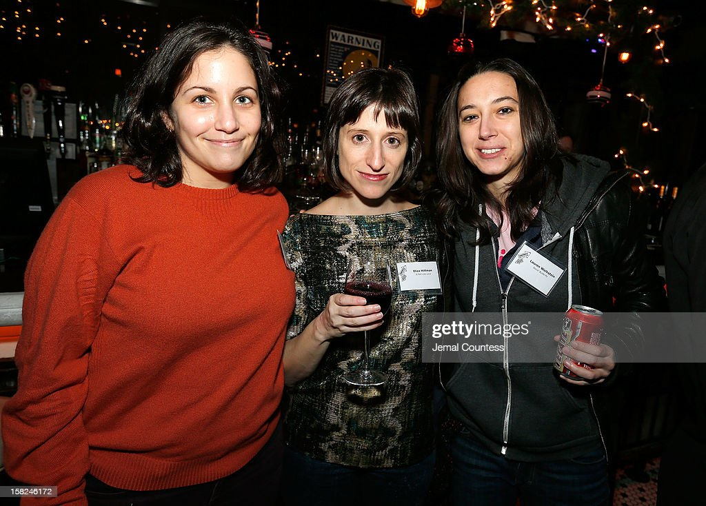 Filmmakers Hanna Fidell, Eliza Hittman and Lauren Wolkstein attend the 2012 Sundance Film Festival Filmmaker Orientation at Hotel Chantelle on December 11, 2012 in New York City.