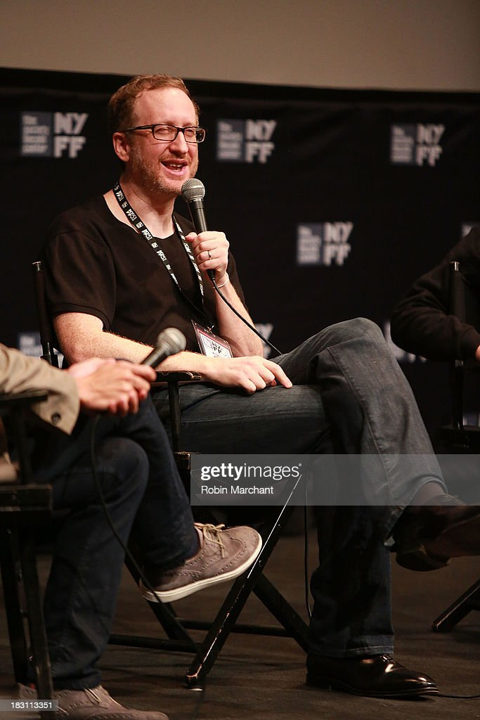 Filmmakers <a gi-track='captionPersonalityLinkClicked' href=/galleries/search?phrase=James+Gray&family=editorial&specificpeople=2479723 ng-click='$event.stopPropagation()'>James Gray</a> attends the 'Immigrants' premiere during the 51st New York Film Festival at The Film Society of Lincoln Center, Walter Reade Theatre on October 4, 2013 in New York City.