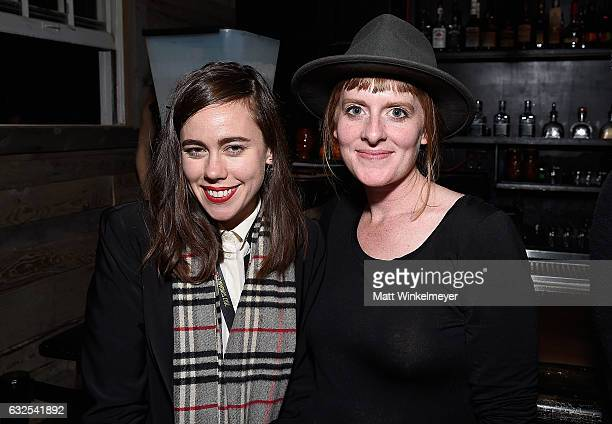 Filmmakers Katie White and Carmen Delaney attend the Film Independent International Documentary Association Oovra Music And RO*CO FILMS Sundance...