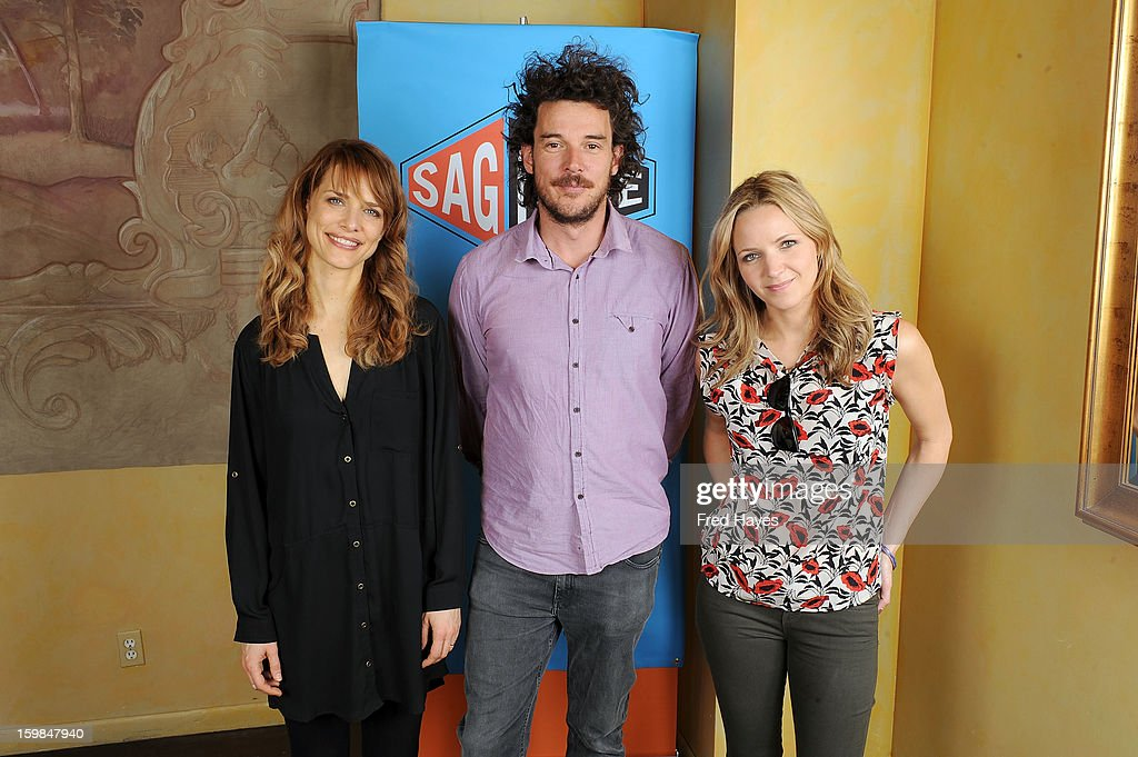 Filmmakers Lynn Shelton, Garth Davis and Jordana Spiro attend the SAGIndie Brunch at Cafe Terigo on January 21, 2013 in Park City, Utah.