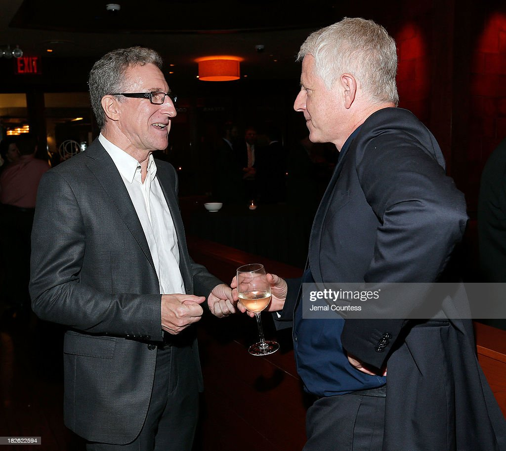 Filmmakers Mark Levinson and Richard Curtis attend the after party for the 'About Time' & 'Jimmy