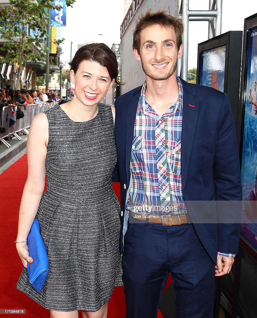 Filmmakers Molly Green (L) and James Leffler attend 'The Way, Way Back' premiere sponsored by DIRECTV during the 2013 Los Angeles Film Festival at Regal Cinemas L.A. Live on June 23, 2013 in Los Angeles, California.