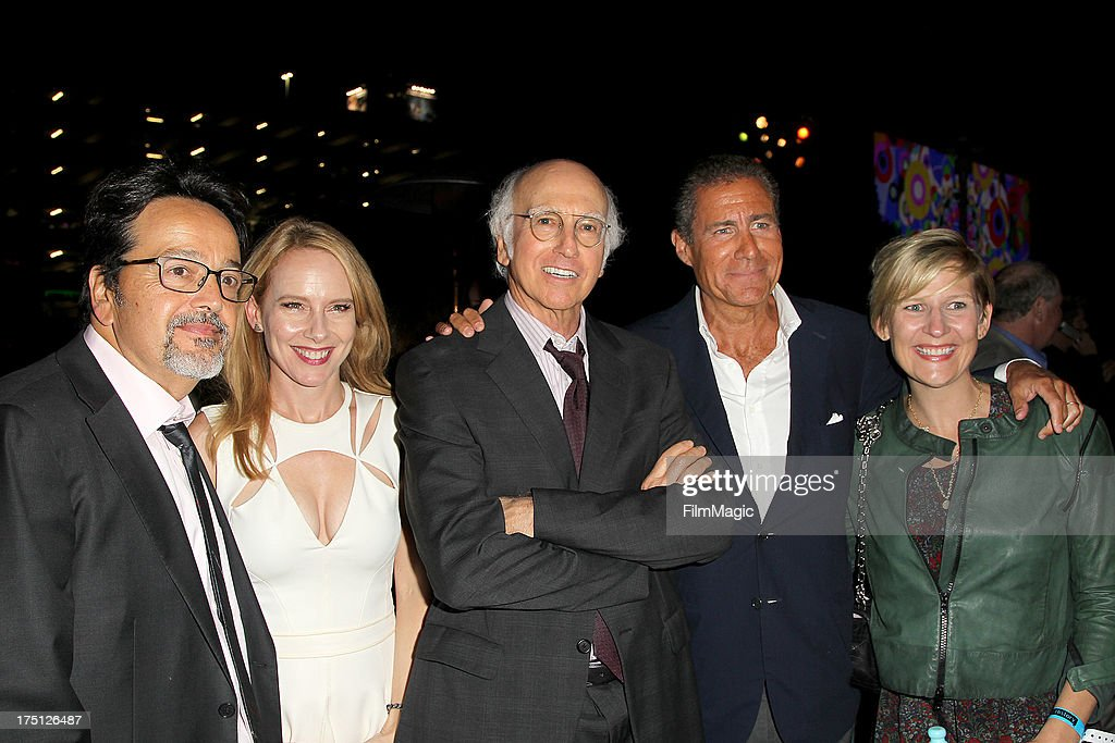 HBO Films President Len Amato actress Amy Ryan writer/actor Larry David HBO Chief Executive Officer Richard Plepler and HBO Entertainment President...