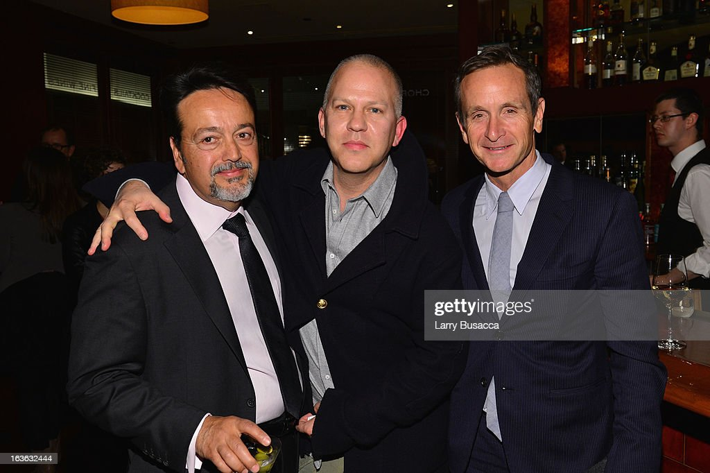 Films president Len Amato, producer Ryan Murphy, and writer Dante Di Loreto attend the after party for the 'Phil Spector' premiere at the Time Warner Center on March 13, 2013 in New York City.