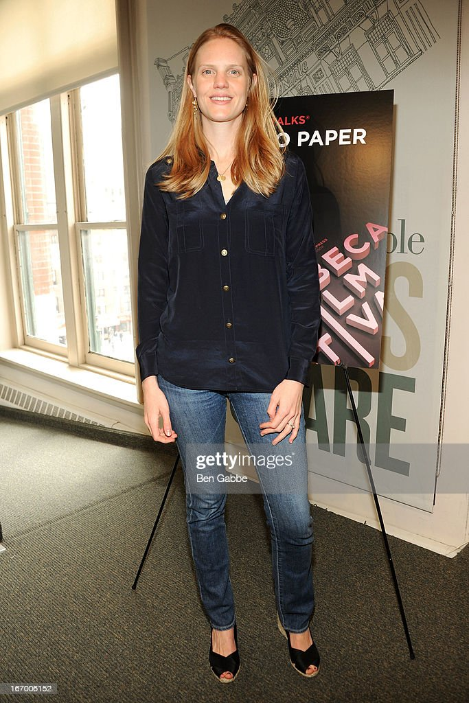 Films Producer Libby Geist attends Tribeca Talks Pen To Paper: New Chick Flicks at Barnes & Noble Union Square on April 19, 2013 in New York City.